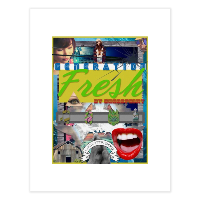 GENERATION Fresh! Home Fine Art Print by Shadeprint's Artist Shop