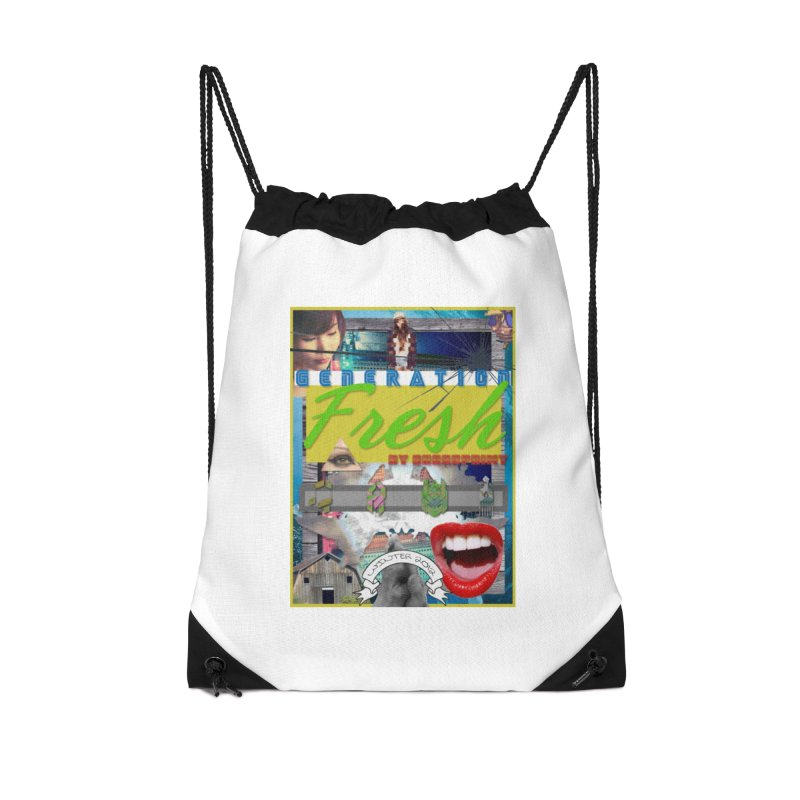 GENERATION Fresh! Accessories Drawstring Bag Bag by Shadeprint's Artist Shop