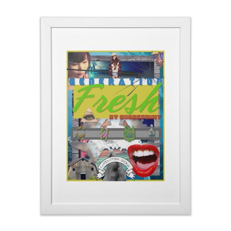 GENERATION Fresh! Home Framed Fine Art Print by Shadeprint's Artist Shop