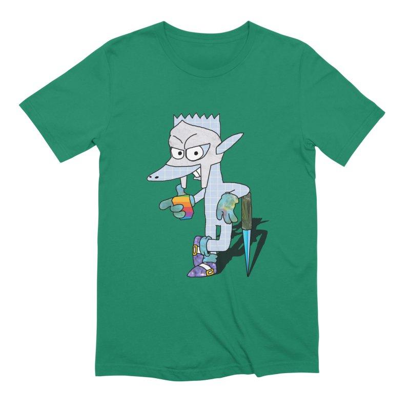 Lil' Qurt [unseen] Men's T-Shirt by Shadeprint's Artist Shop