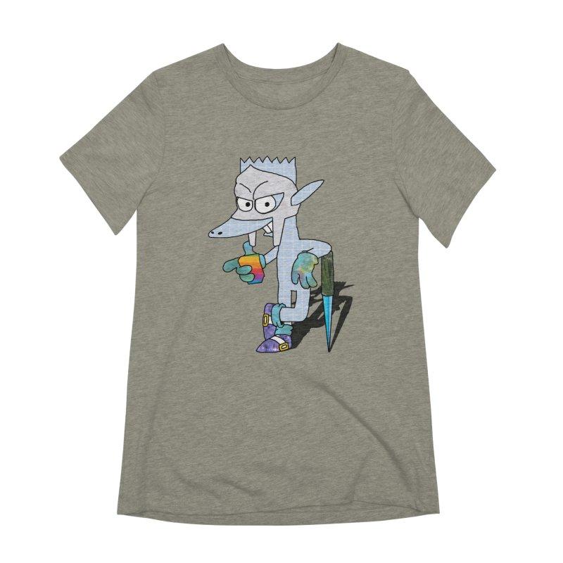 Lil' Qurt [unseen] Women's Extra Soft T-Shirt by Shadeprint's Artist Shop
