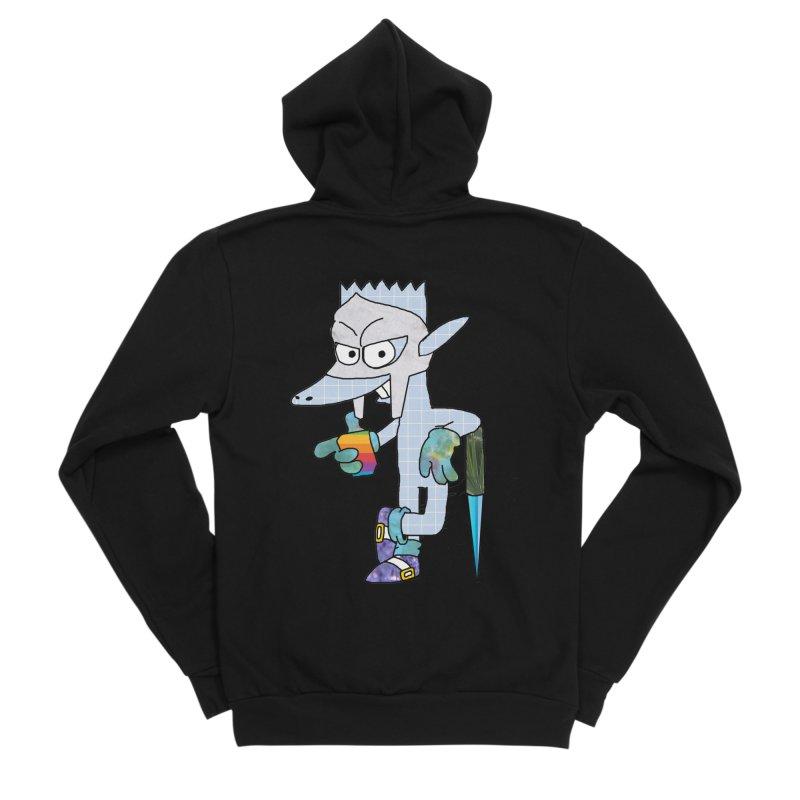 Lil' Qurt [unseen] Women's Sponge Fleece Zip-Up Hoody by Shadeprint's Artist Shop