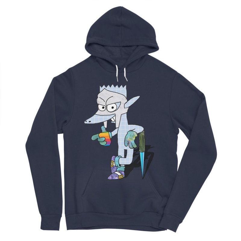 Lil' Qurt [unseen] Men's Sponge Fleece Pullover Hoody by Shadeprint's Artist Shop