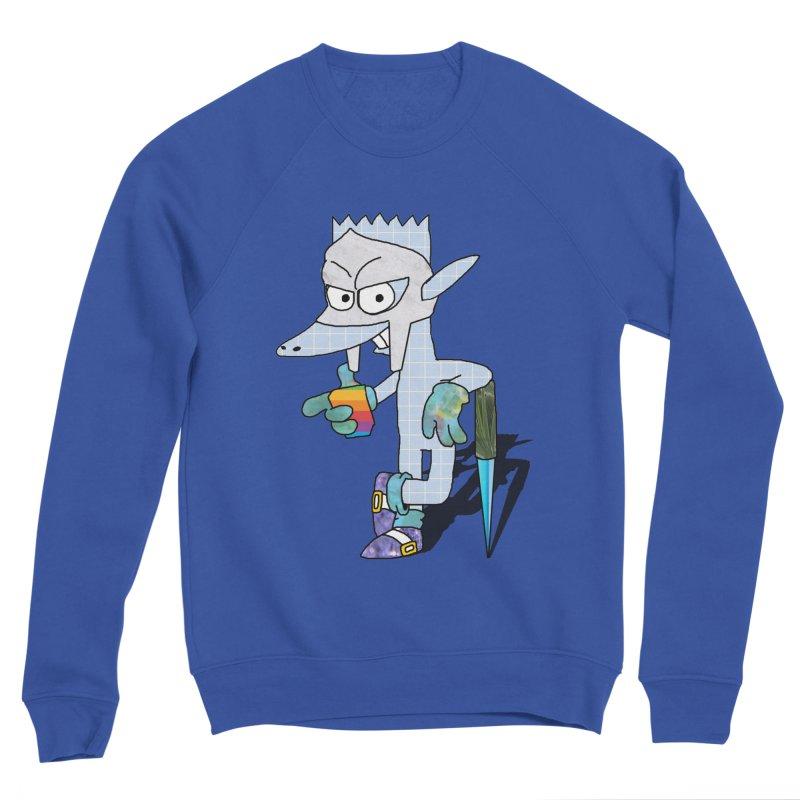 Lil' Qurt [unseen] Men's Sponge Fleece Sweatshirt by Shadeprint's Artist Shop
