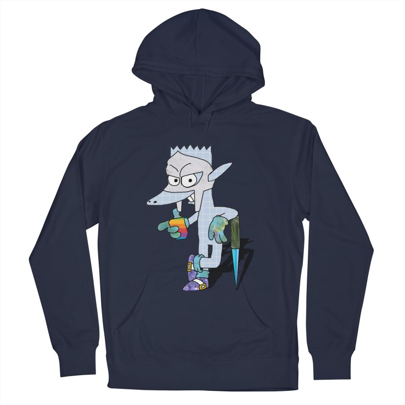 Lil' Qurt [unseen] Men's Pullover Hoody by Shadeprint's Artist Shop