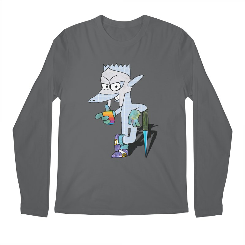 Lil' Qurt [unseen] Men's Longsleeve T-Shirt by Shadeprint's Artist Shop