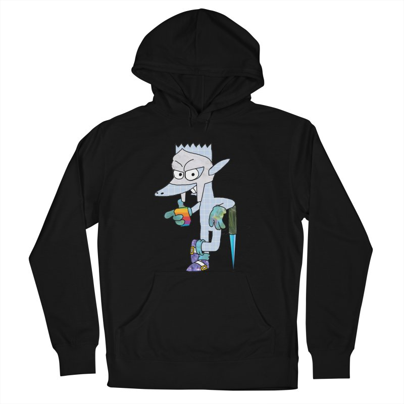Lil' Qurt [unseen] Men's French Terry Pullover Hoody by Shadeprint's Artist Shop