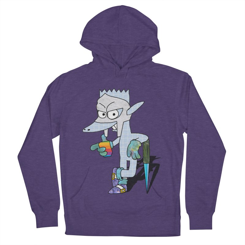 Lil' Qurt [unseen] Women's French Terry Pullover Hoody by Shadeprint's Artist Shop