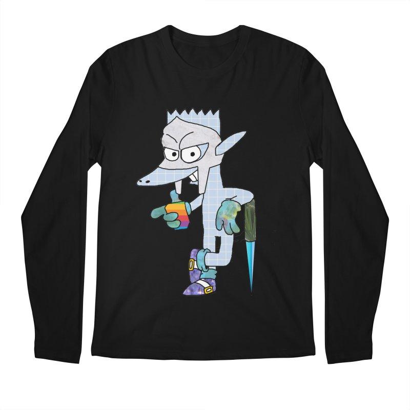 Lil' Qurt [unseen] Men's Regular Longsleeve T-Shirt by Shadeprint's Artist Shop