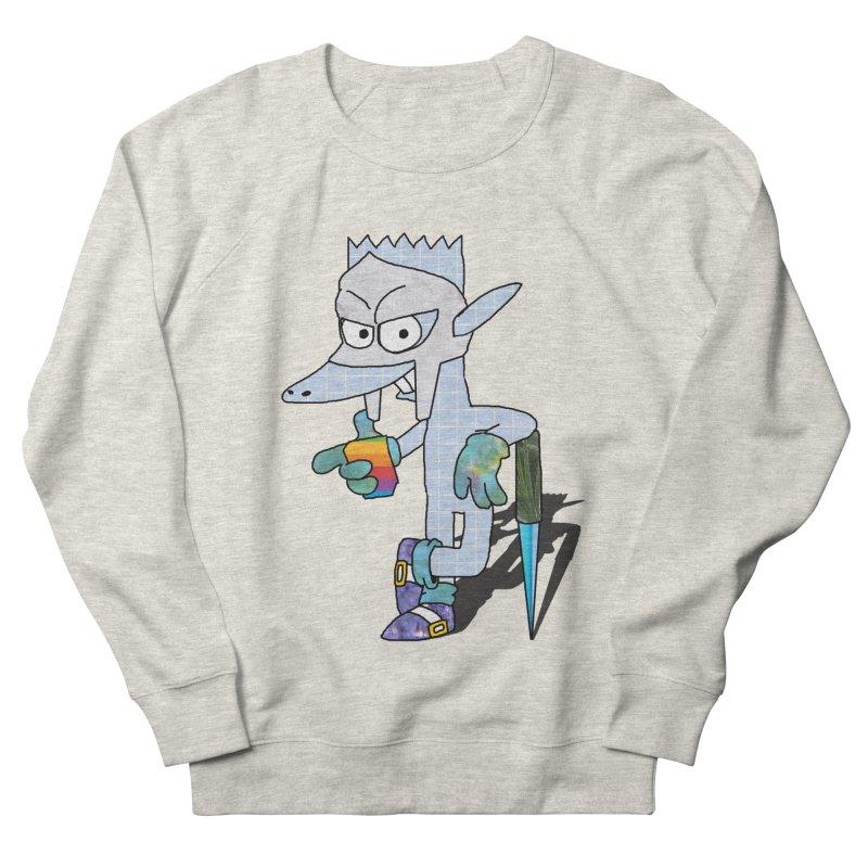 Lil' Qurt [unseen] Men's French Terry Sweatshirt by Shadeprint's Artist Shop