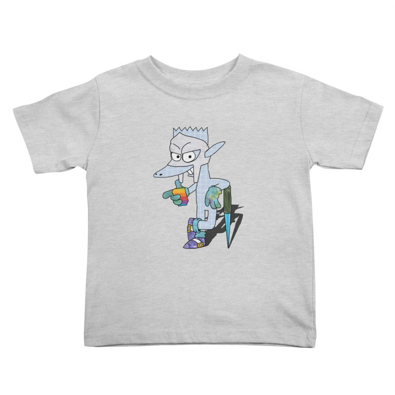 Lil' Qurt [unseen] Kids Toddler T-Shirt by Shadeprint's Artist Shop
