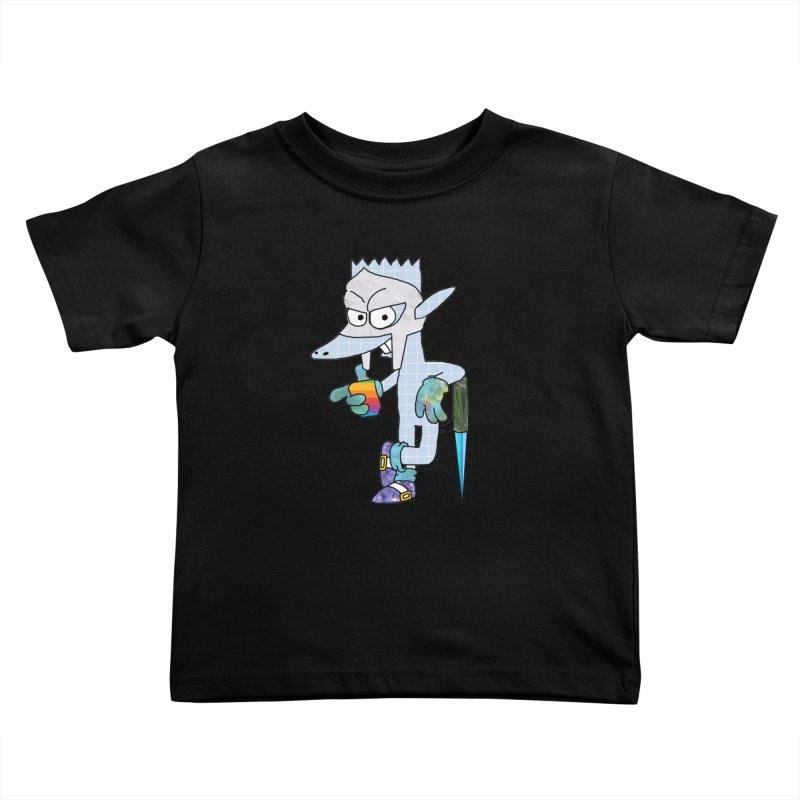 Lil' Qurt [unseen] Kids Toddler T-Shirt by Shadeprint's Artist Shop
