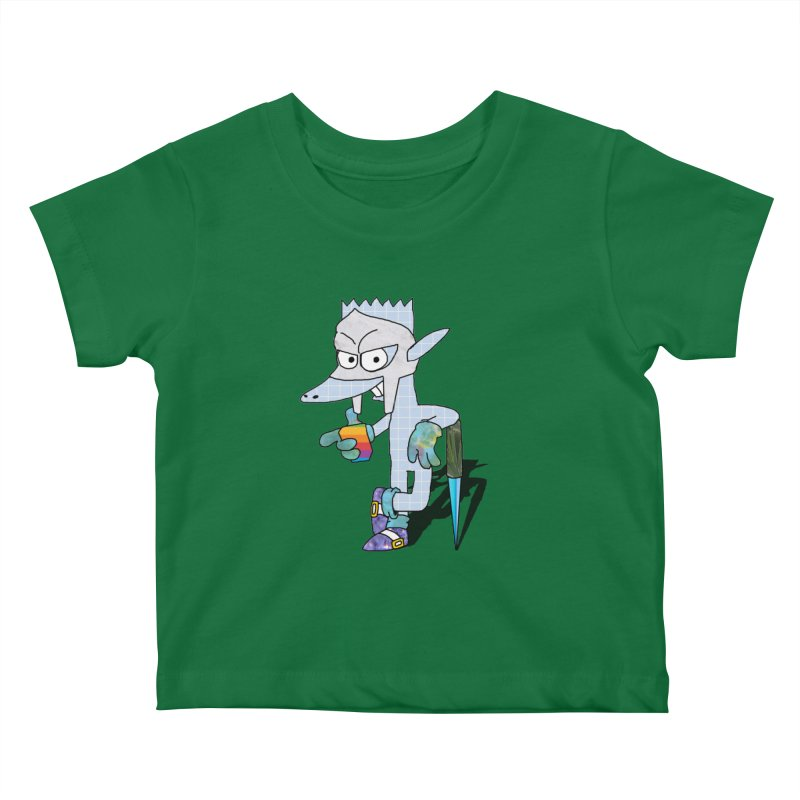 Lil' Qurt [unseen] Kids Baby T-Shirt by Shadeprint's Artist Shop
