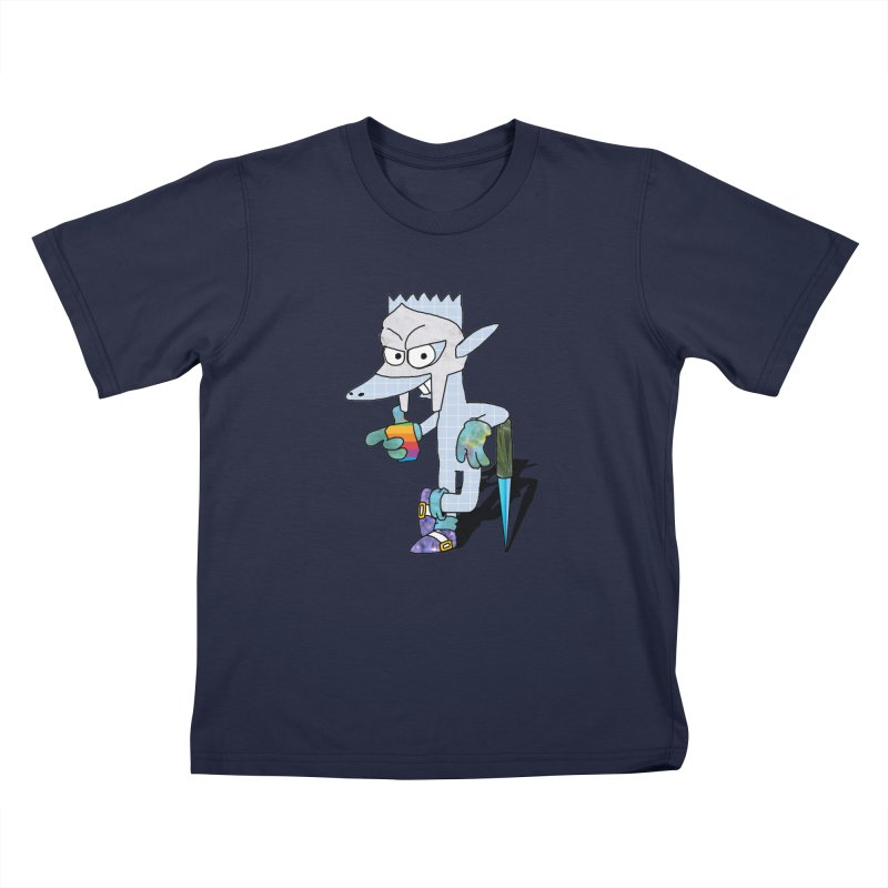 Lil' Qurt [unseen] Kids T-Shirt by Shadeprint's Artist Shop