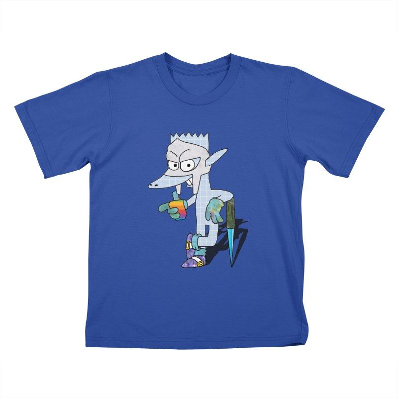 Lil' Qurt [unseen] Kids T-Shirt by SHADEPRINT.DESIGN