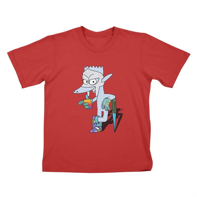 Lil' Qurt [unseen] Kids T-Shirt by Shadeprint's Artist Shop