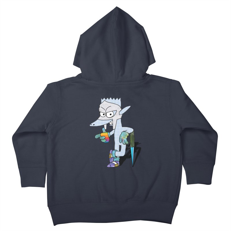 Lil' Qurt [unseen] Kids Toddler Zip-Up Hoody by Shadeprint's Artist Shop