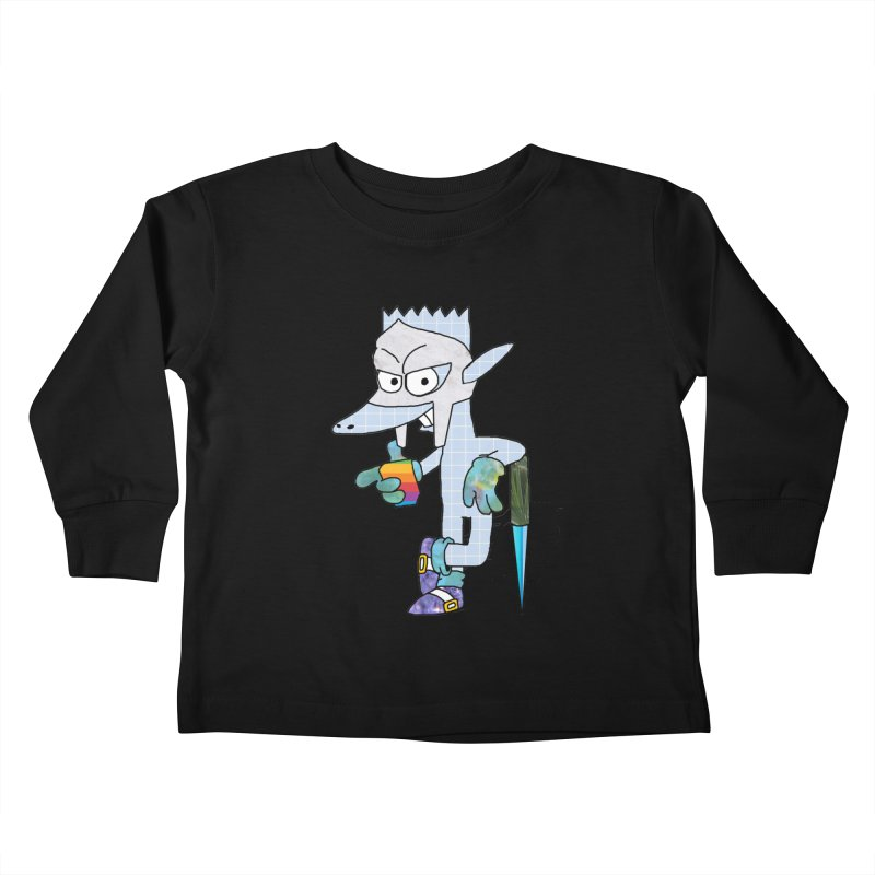Lil' Qurt [unseen] Kids Toddler Longsleeve T-Shirt by Shadeprint's Artist Shop