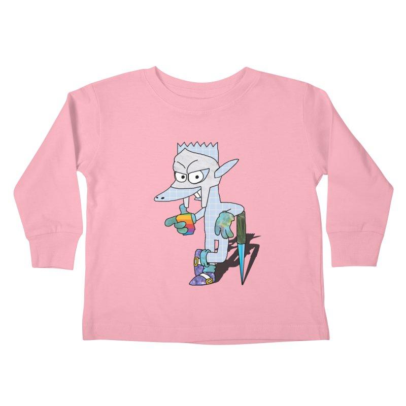 Lil' Qurt [unseen] Kids Toddler Longsleeve T-Shirt by Shadeprint's Artist Shop