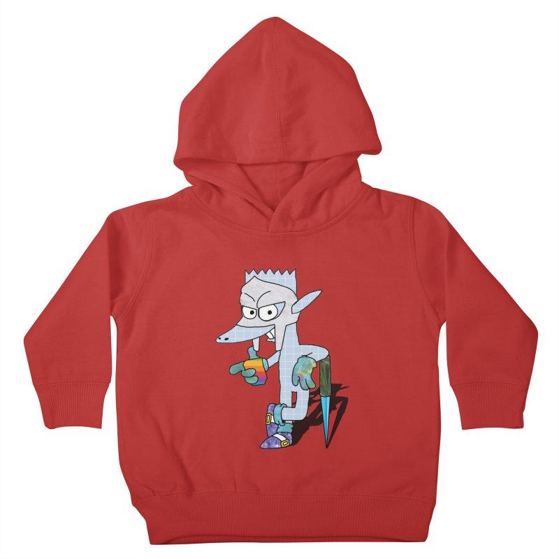 Lil' Qurt [unseen] Kids Toddler Pullover Hoody by Shadeprint's Artist Shop