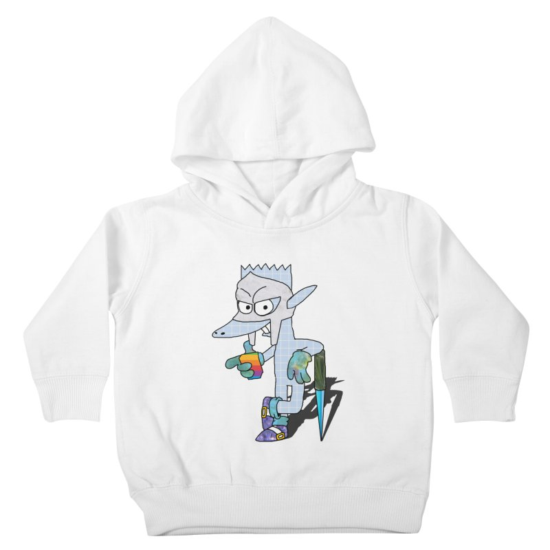 Lil' Qurt [unseen] Kids Toddler Pullover Hoody by Shadeprint's Artist Shop