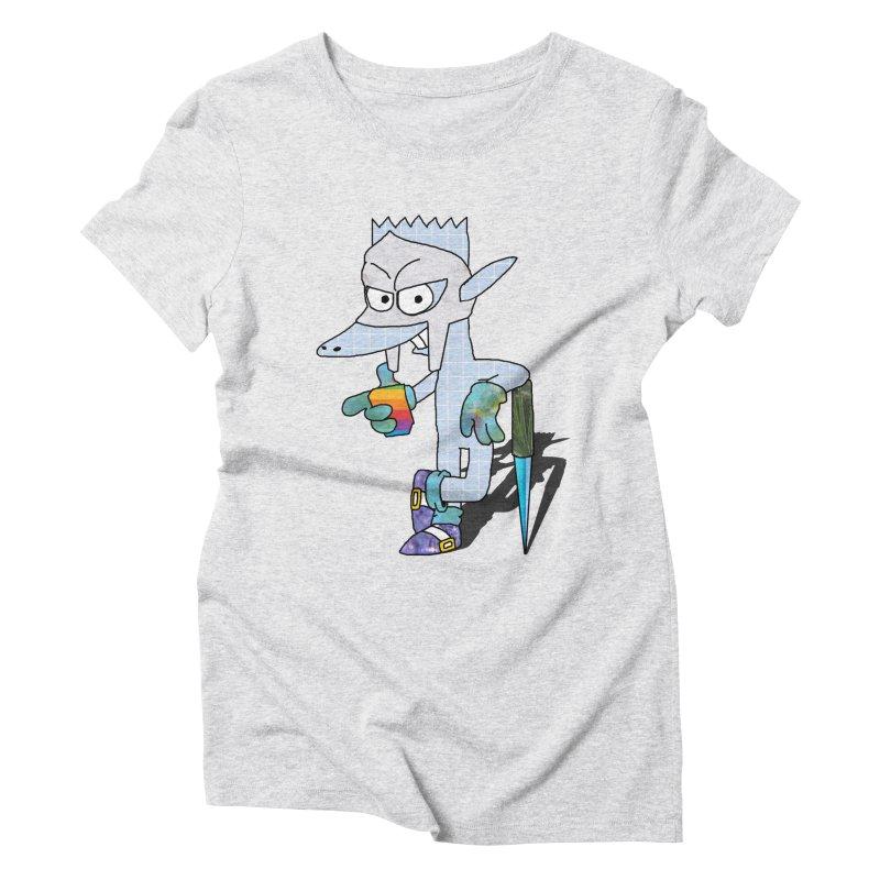 Lil' Qurt [unseen] Women's Triblend T-Shirt by Shadeprint's Artist Shop