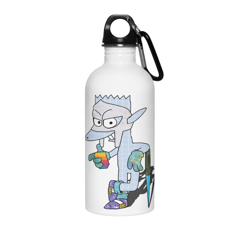 Lil' Qurt [unseen] Accessories Water Bottle by Shadeprint's Artist Shop