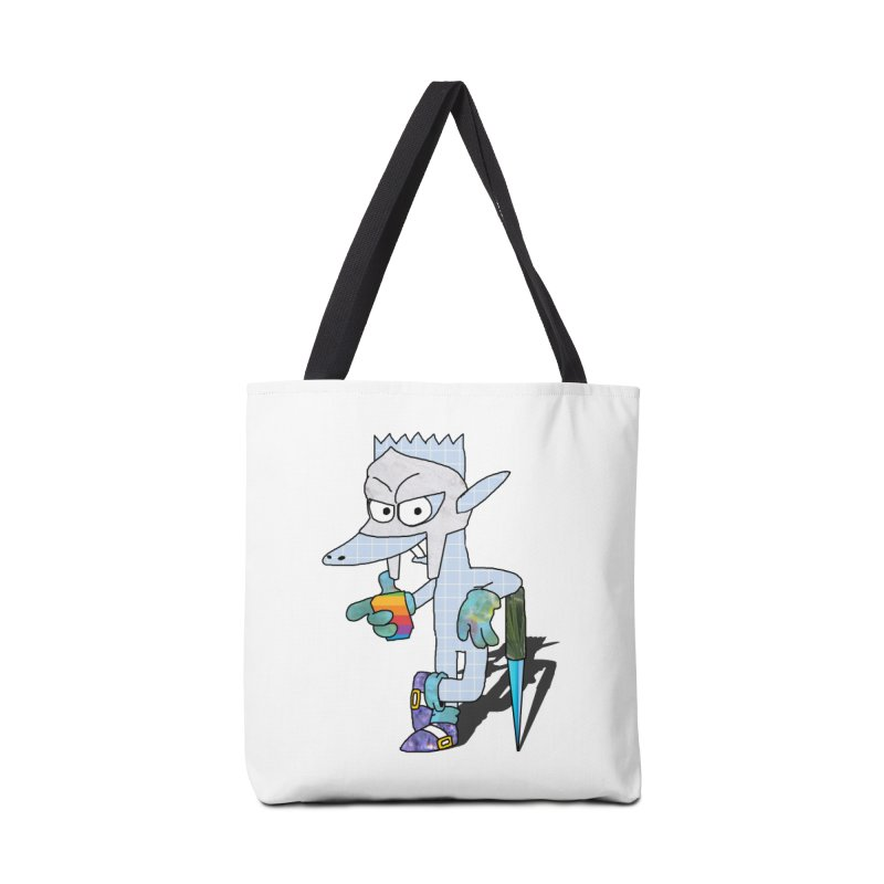 Lil' Qurt [unseen] Accessories Tote Bag Bag by Shadeprint's Artist Shop