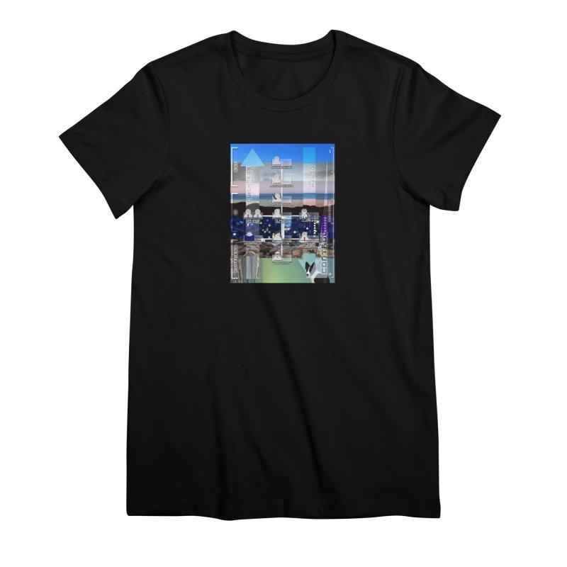= Mind Factory = Women's Premium T-Shirt by Shadeprint's Artist Shop