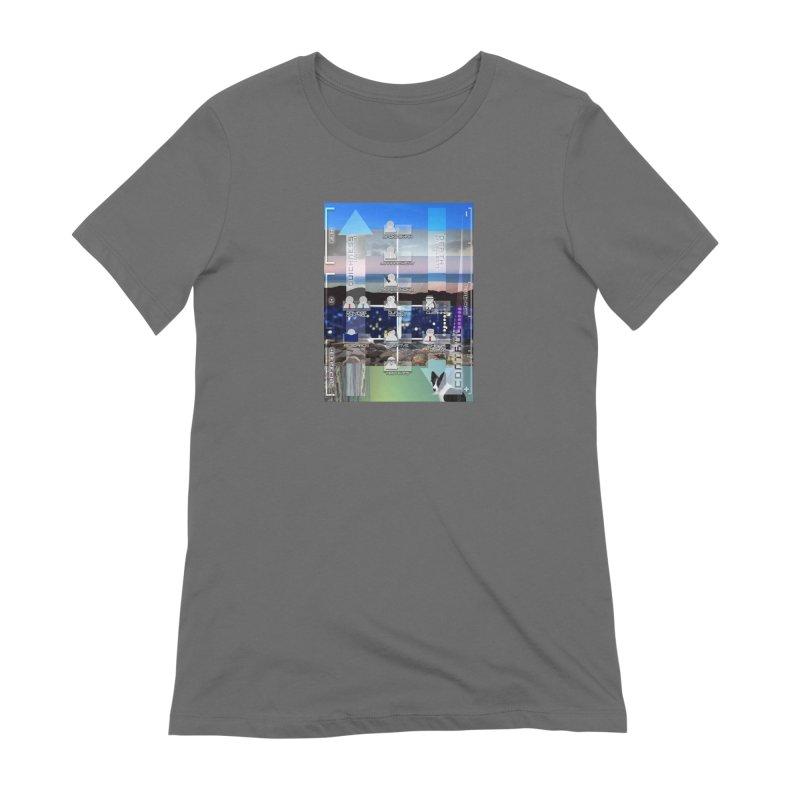 = Mind Factory = Women's Extra Soft T-Shirt by Shadeprint's Artist Shop