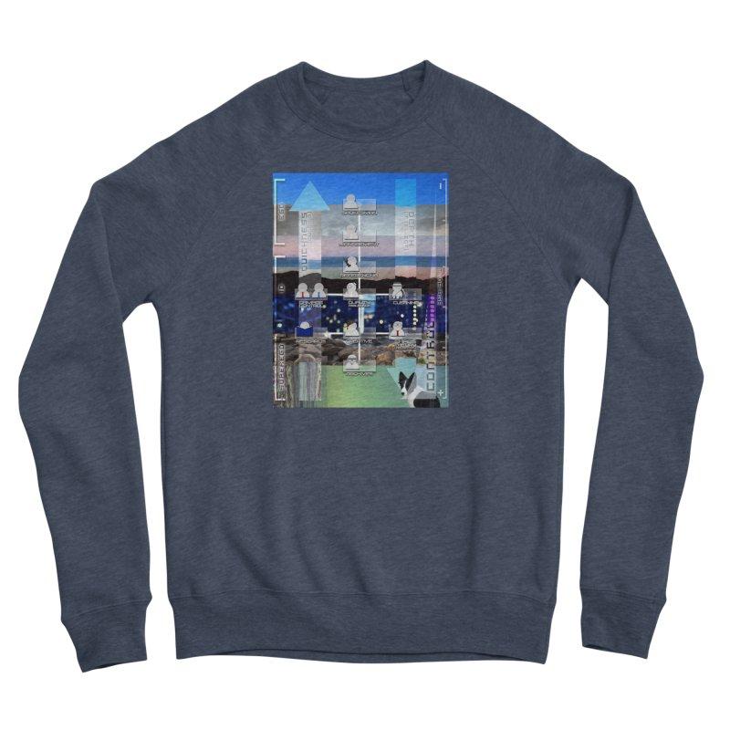 = Mind Factory = Men's Sponge Fleece Sweatshirt by Shadeprint's Artist Shop
