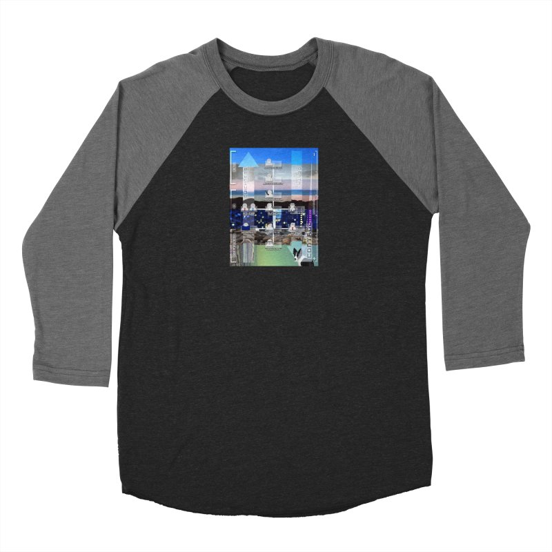 = Mind Factory = Women's Baseball Triblend Longsleeve T-Shirt by Shadeprint's Artist Shop