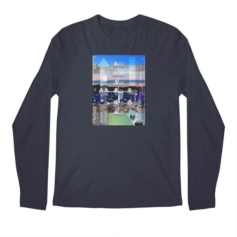 = Mind Factory = Men's Regular Longsleeve T-Shirt by Shadeprint's Artist Shop