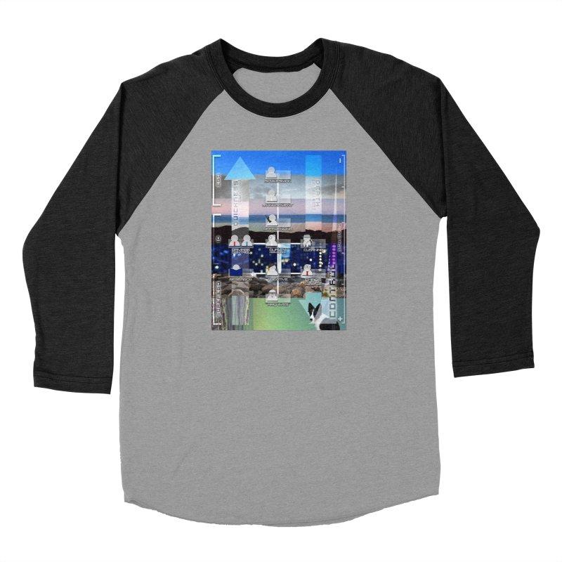 = Mind Factory = Women's Baseball Triblend Longsleeve T-Shirt by Shadeprint's Artist Shop