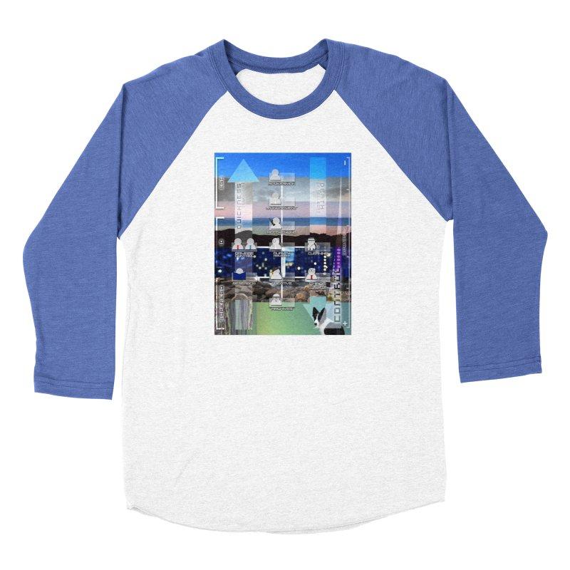 = Mind Factory = Men's Baseball Triblend Longsleeve T-Shirt by Shadeprint's Artist Shop