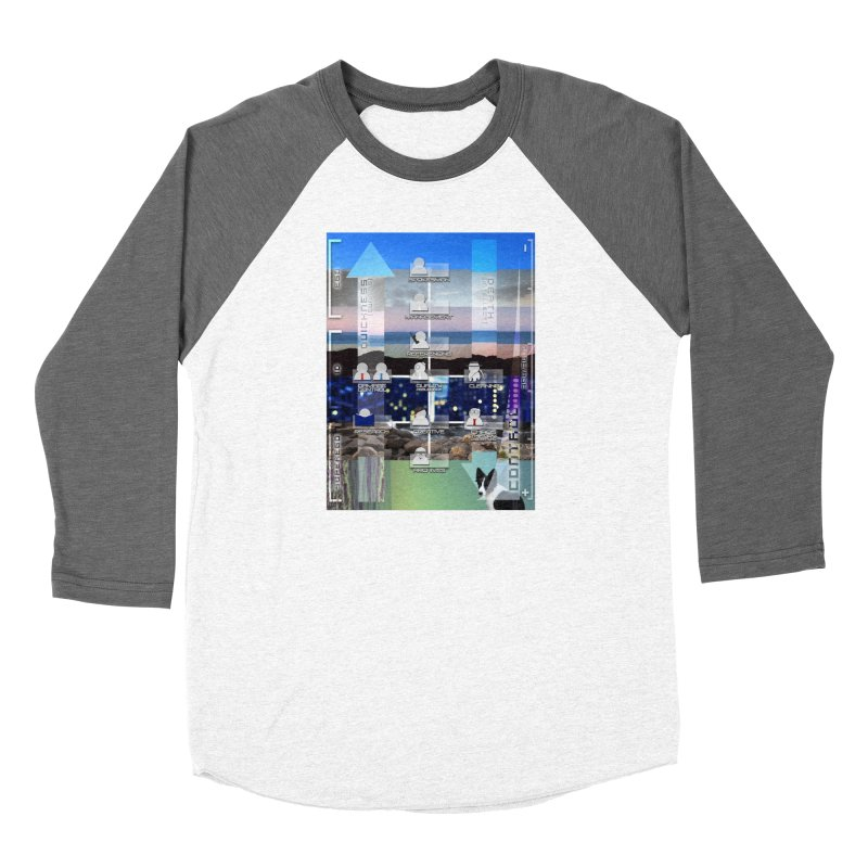 = Mind Factory = Men's Baseball Triblend Longsleeve T-Shirt by Shadeprint's Artist Shop