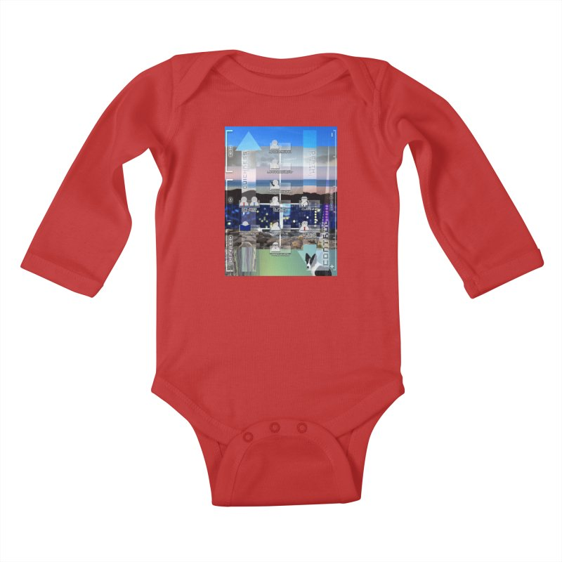 = Mind Factory = Kids Baby Longsleeve Bodysuit by Shadeprint's Artist Shop