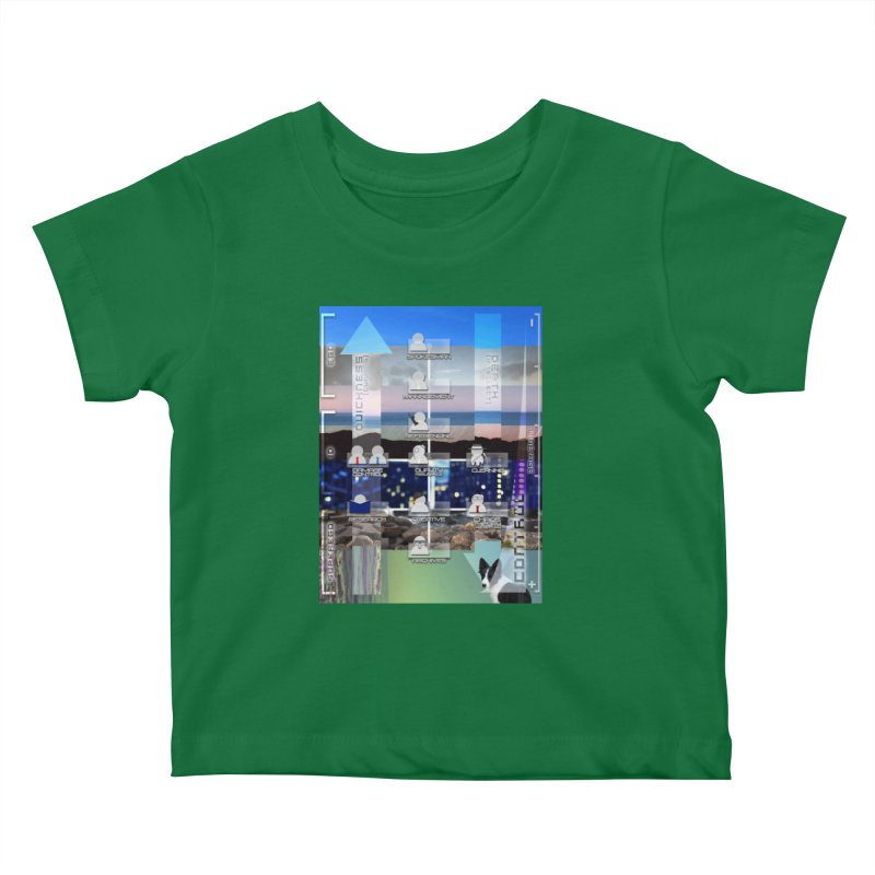 = Mind Factory = Kids Baby T-Shirt by Shadeprint's Artist Shop