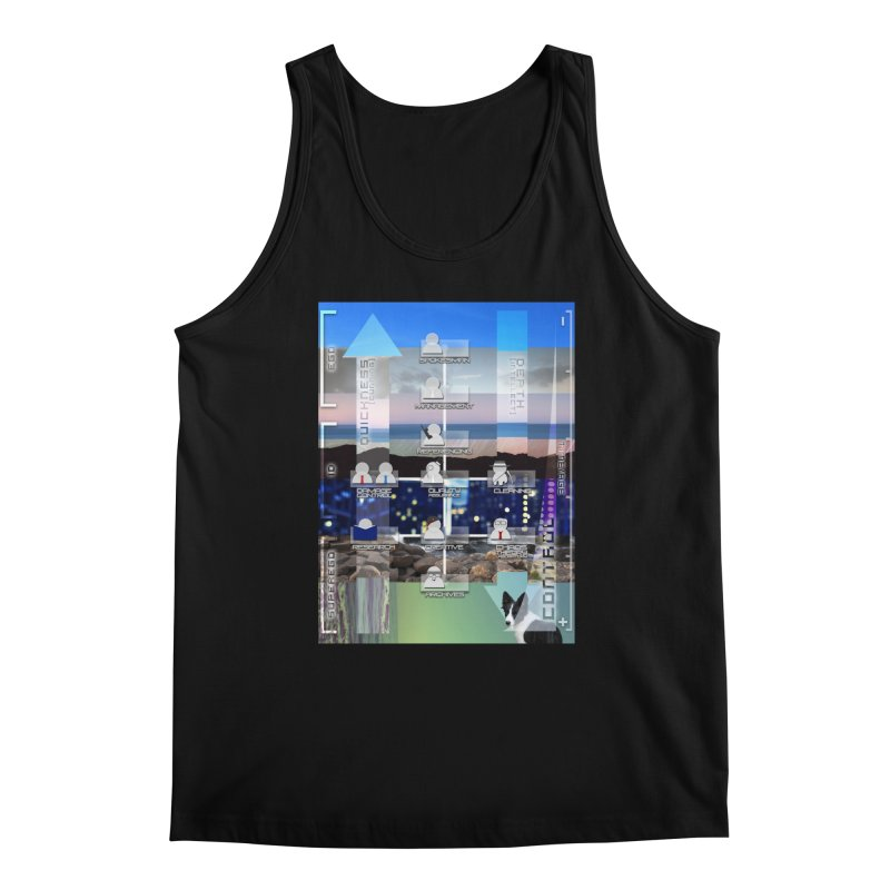 = Mind Factory = Men's Regular Tank by Shadeprint's Artist Shop