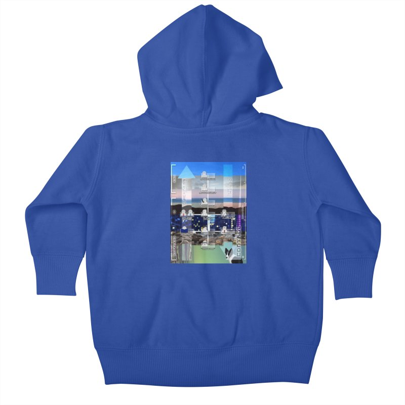 = Mind Factory = Kids Baby Zip-Up Hoody by Shadeprint's Artist Shop
