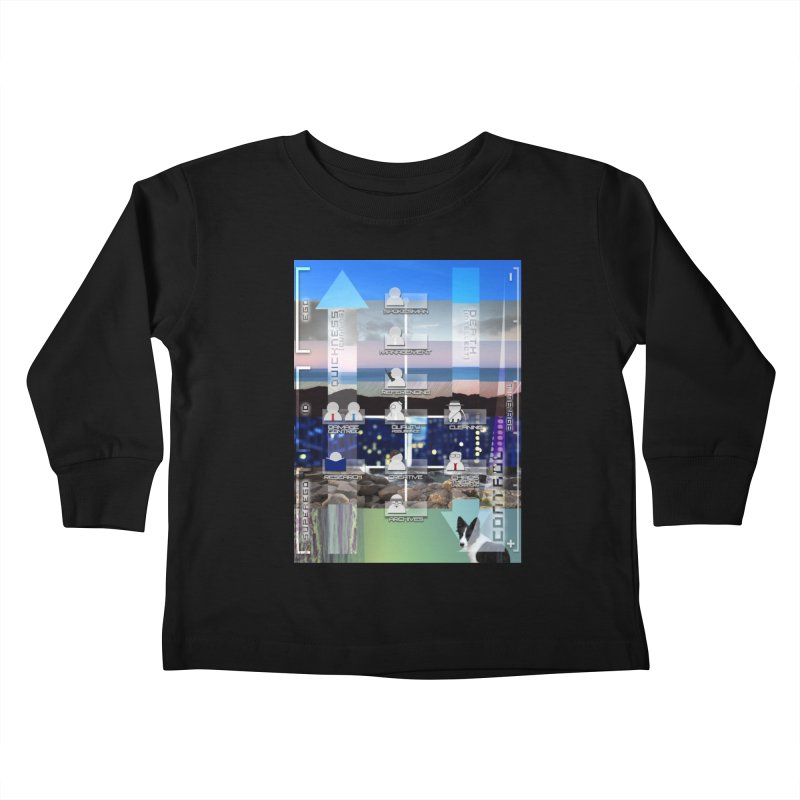 = Mind Factory = Kids Toddler Longsleeve T-Shirt by Shadeprint's Artist Shop