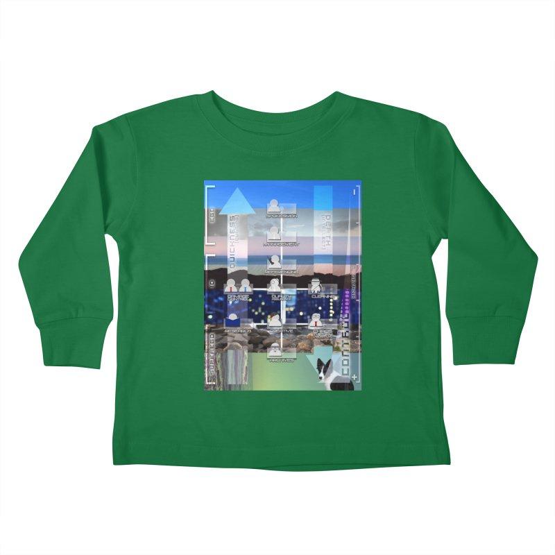 = Mind Factory = Kids Toddler Longsleeve T-Shirt by Shadeprint's Artist Shop