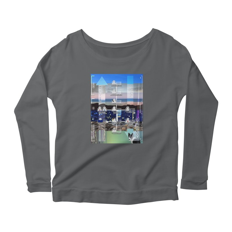 = Mind Factory = Women's Scoop Neck Longsleeve T-Shirt by Shadeprint's Artist Shop
