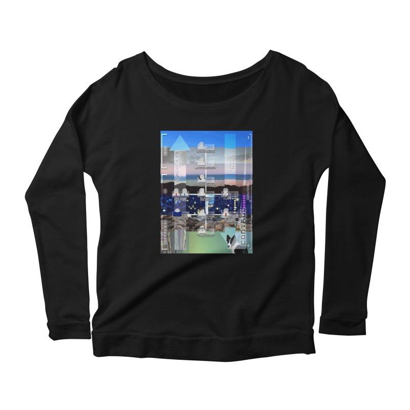 = Mind Factory = Women's Scoop Neck Longsleeve T-Shirt by Shadeprint's Artist Shop