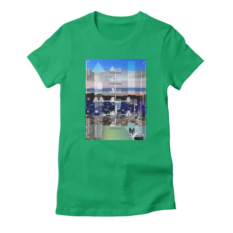 = Mind Factory = Women's Fitted T-Shirt by Shadeprint's Artist Shop