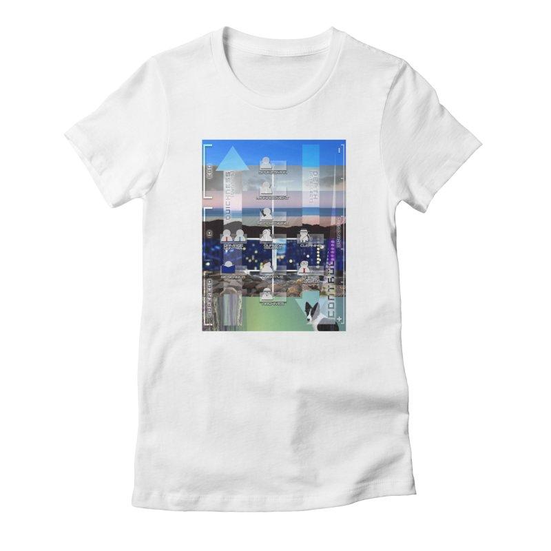 = Mind Factory = Women's Fitted T-Shirt by Shadeprint's Artist Shop
