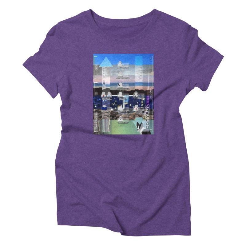 = Mind Factory = Women's Triblend T-Shirt by Shadeprint's Artist Shop