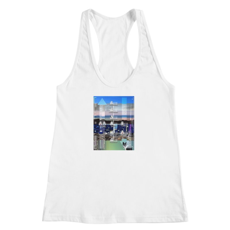 = Mind Factory = Women's Racerback Tank by Shadeprint's Artist Shop