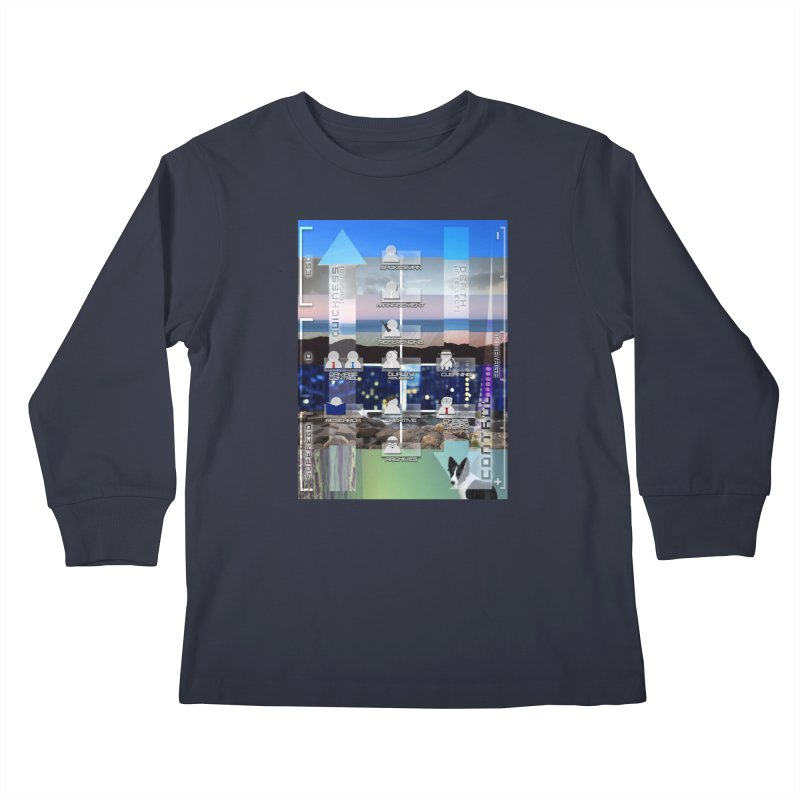= Mind Factory = Kids Longsleeve T-Shirt by Shadeprint's Artist Shop