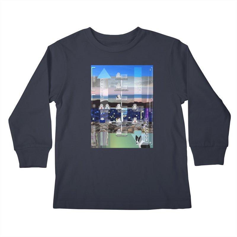 = Mind Factory = Kids Longsleeve T-Shirt by Shadeprint's Artist Shop